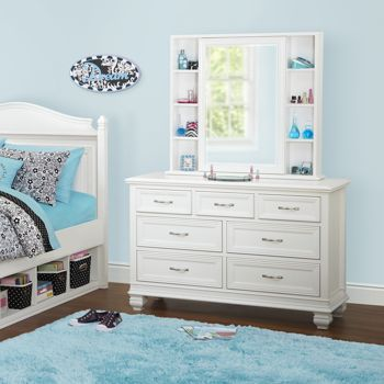 Costco cafekid brooke dresser with mirror childrens for Brooke mirror