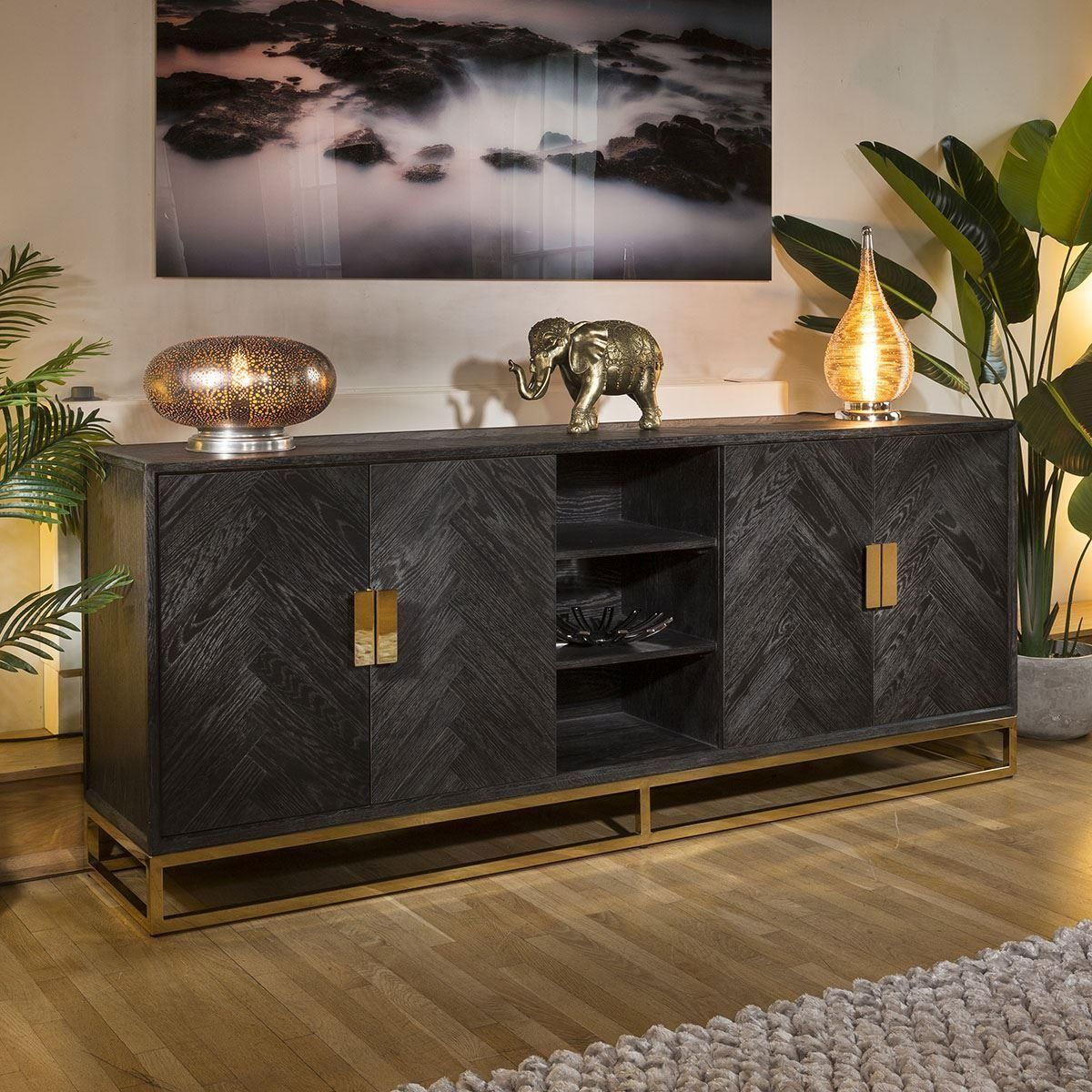 Pin By Herry Tan On Deco Maison Dining Room Buffet Table Modern Buffets And Sideboards Luxury Sideboard