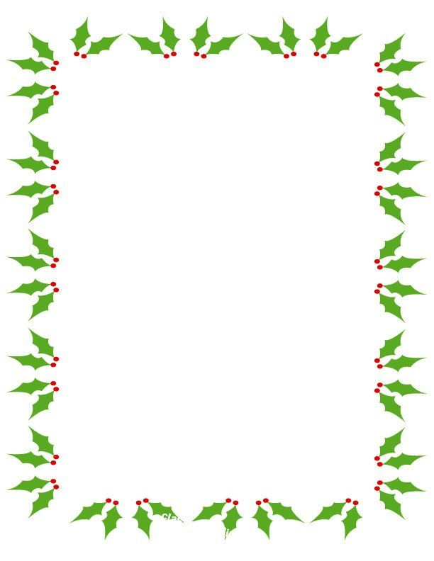 free christmas clip art borders - Google Search | Holiday ...