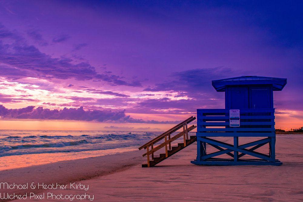 Sarasota Siesta Key Beach Blue Lifeguard Stand Purple Sunset | Wicked Pixel Photography #sunset #sunsetphotography #sunsetpictures #sunsetbeach #sunsetaesthetic #sunsetaestheticsummer #sunsetsummer #sunsetphotographybeach #sunsetphotographynature #sunsetphotographybeachphotoideas #sunsetphotographybeachsky #sunsetphotographybeachbeautiful #sunsetbeachpictures #sunsetbeachphotos #sunsetbeachphotosnature #landscapephotographysunset #landscapephotographynaturecolorful