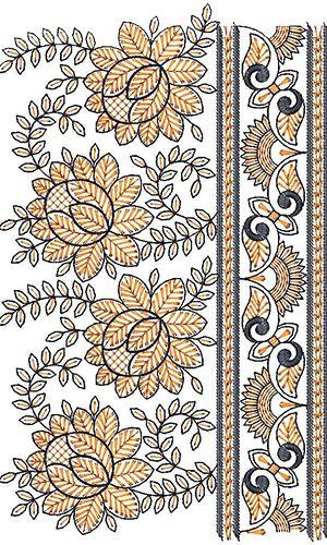 Beatifull Lace Border Embroidery Design Borders Pinterest