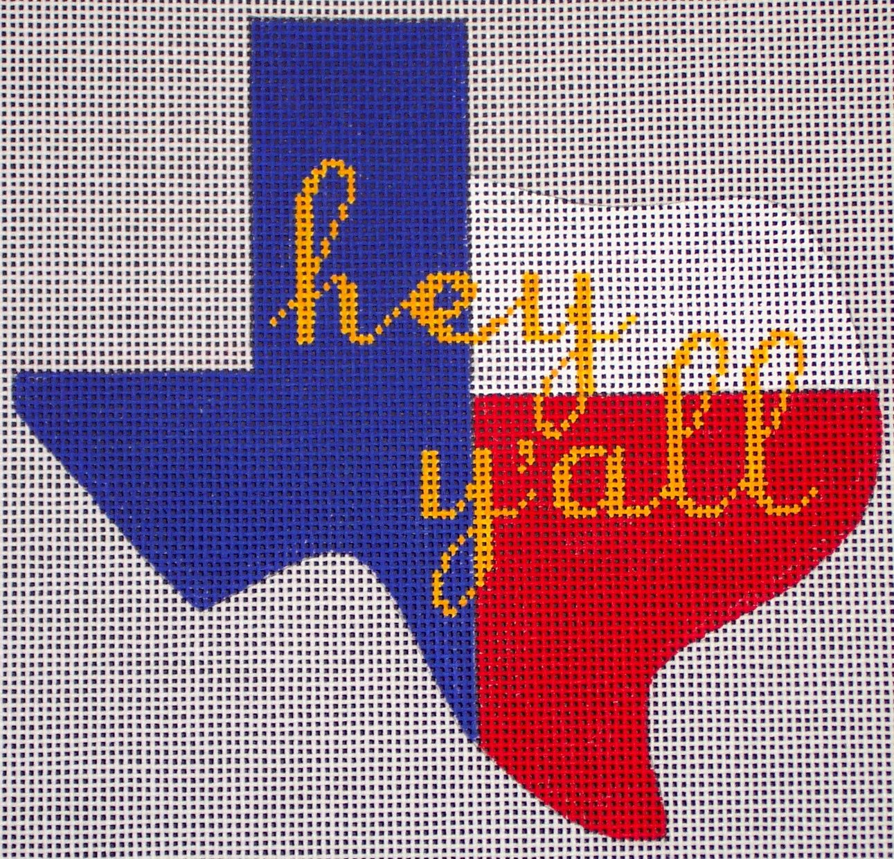 Hey Y'all by EyeCandy Needleart