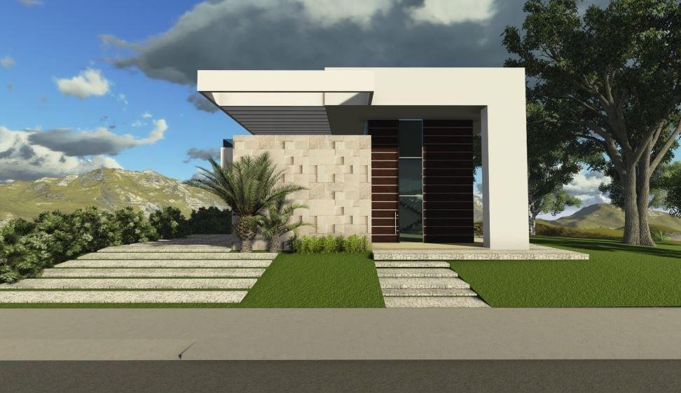 Fachadas de casas peque as 5 metros de frente casas for Fachadas de frente de casas pequenas