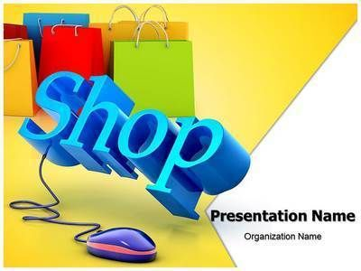 download our state of the art online shopping ppt template this