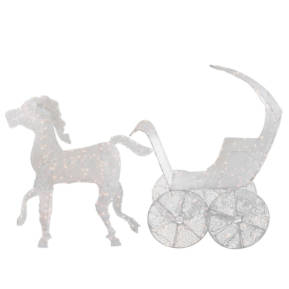 Horse And Carriage Christmas