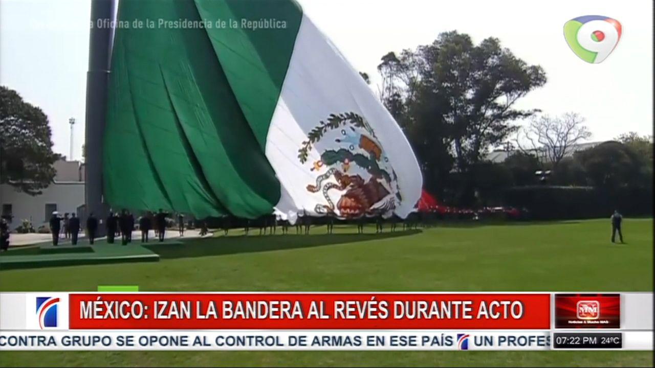 En México Izan La Bandera Al Revés Durante Acto Conmemorativo Fun Slide Grounds Fair Grounds
