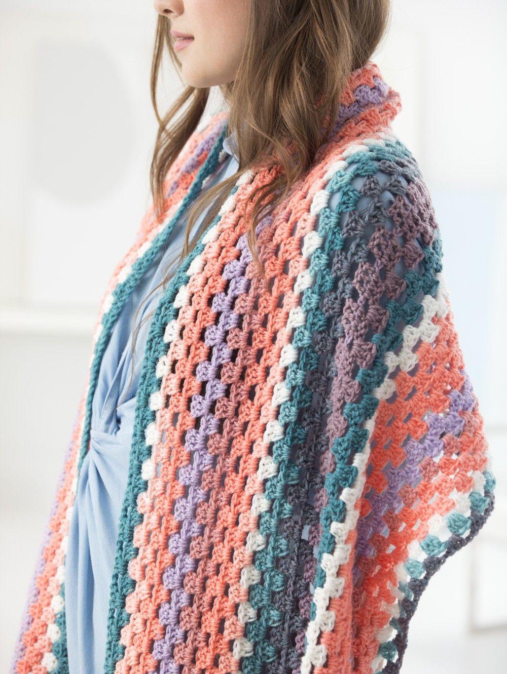 Best Mandala Yarn Free Crochet Patterns Crochet Wrap Pattern