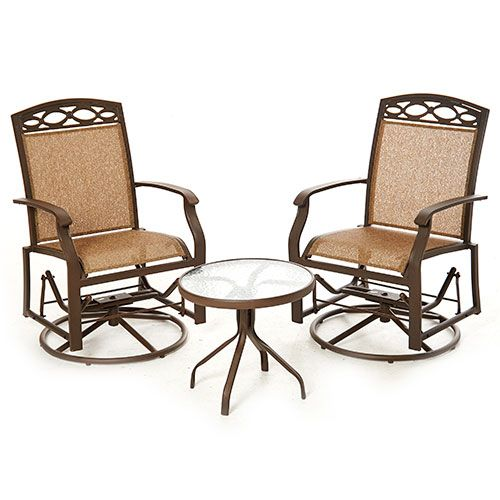 Boscov S Patio Furniture Sonora Bay 3pc Patio Seating Set