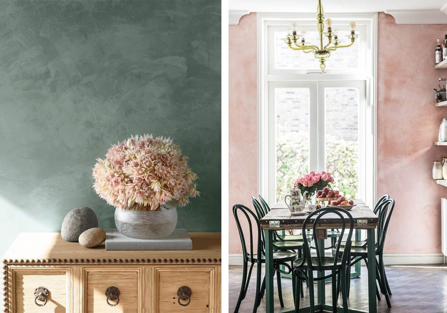 Sponge Painted Walls Whether They Are A Moody Jewel Color Or A