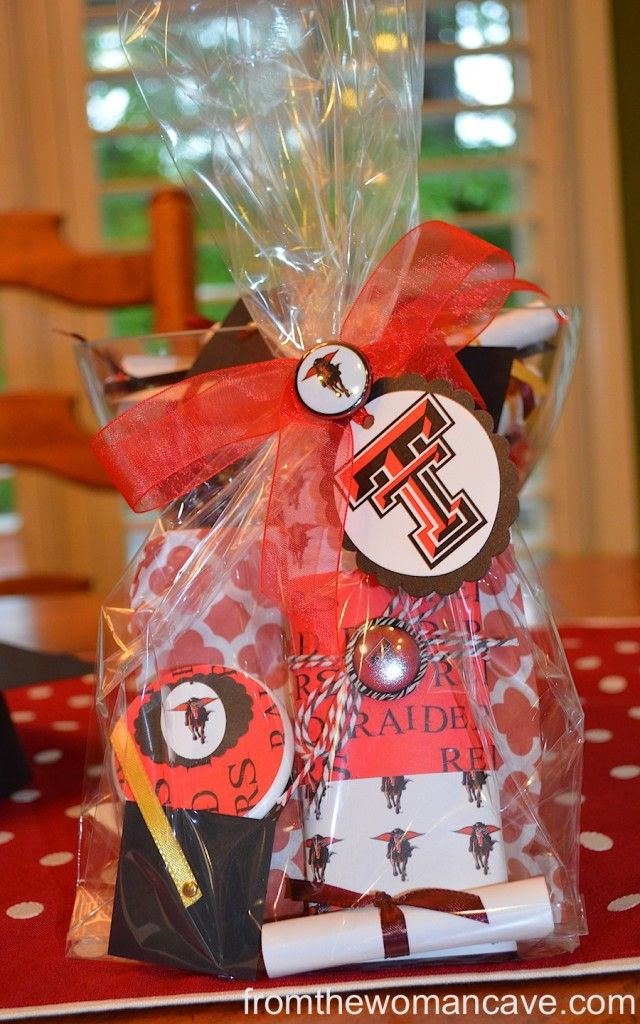Texas Tech Goodie Bags for Graduation Weekend | Grad party ...