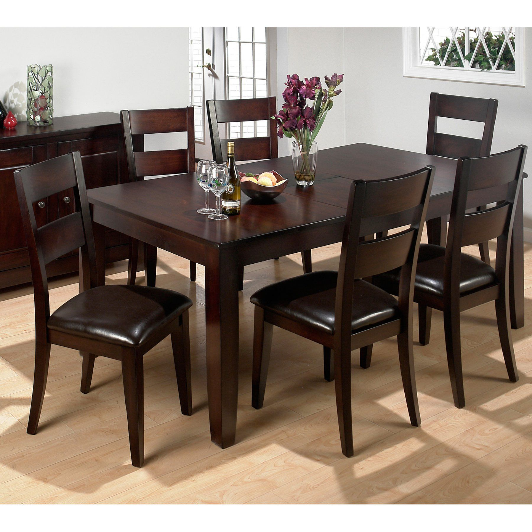 cheap dining room table and chairs. Jofran Rustic Prairie 7 Piece Dining Set - JSI947 Cheap Room Table And Chairs F