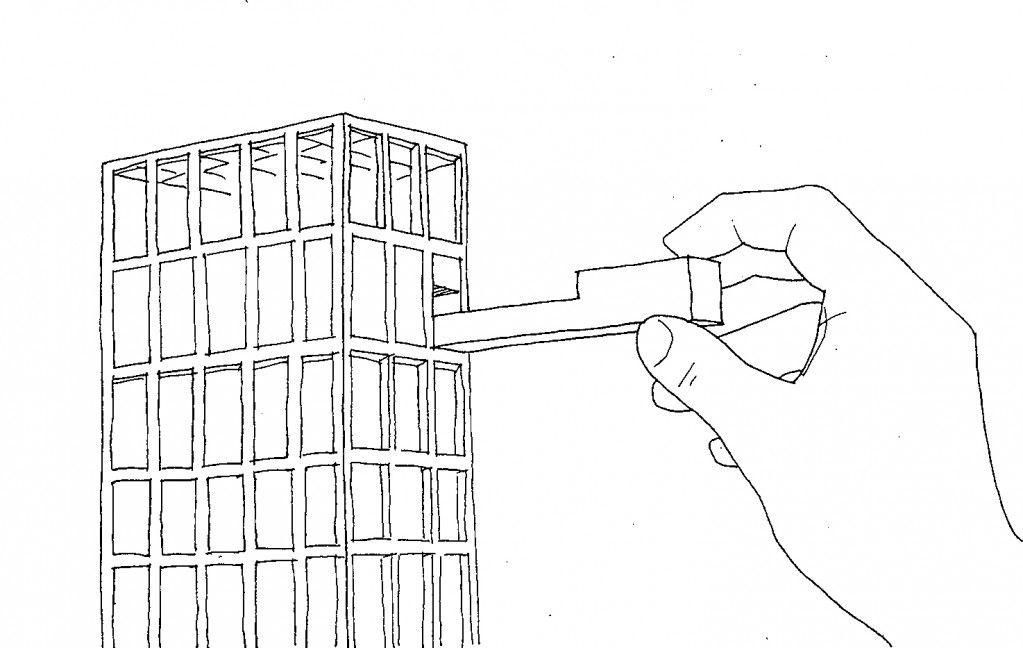 rem koolhaas - le corbusier u0026 39 s hand
