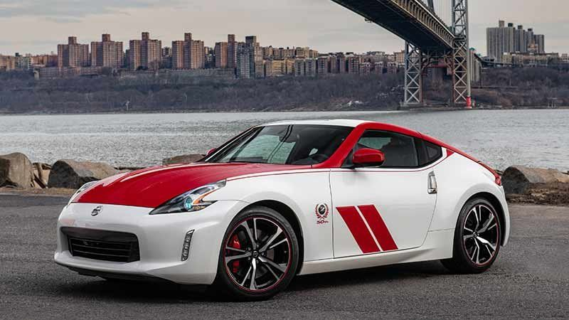 2020 Nissan 370z 50th Anniversary Edition Celebrates The 240z Nissan Z Nissan 370z Nissan 370z Nismo