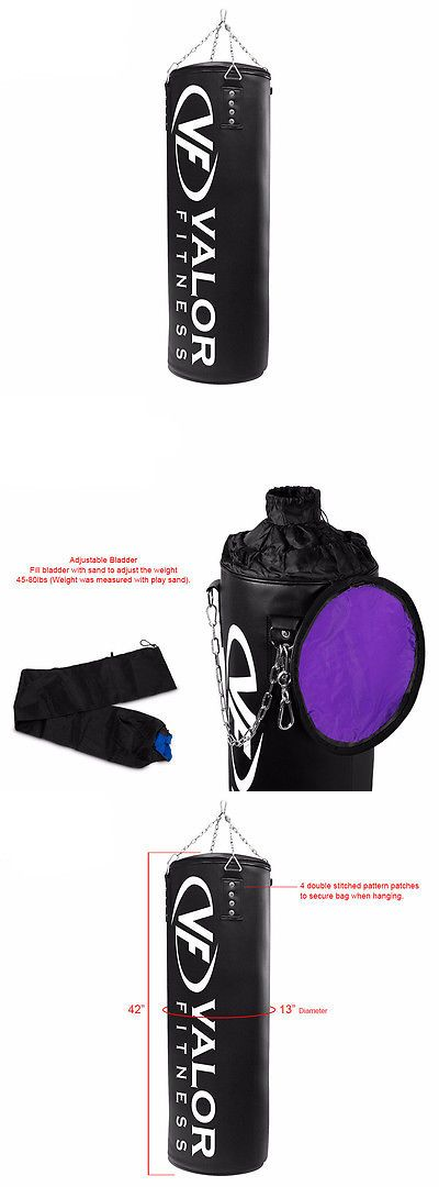 Bag Stands Platforms and Accs 179785: Valor Fitness Vb-Apb-42 Adjustable Punch Bag -> BUY IT NOW ONLY: $96.25 on eBay!
