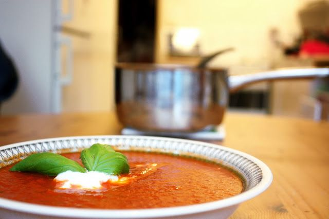 Tomato soup  thecandidbird.blogspot.com