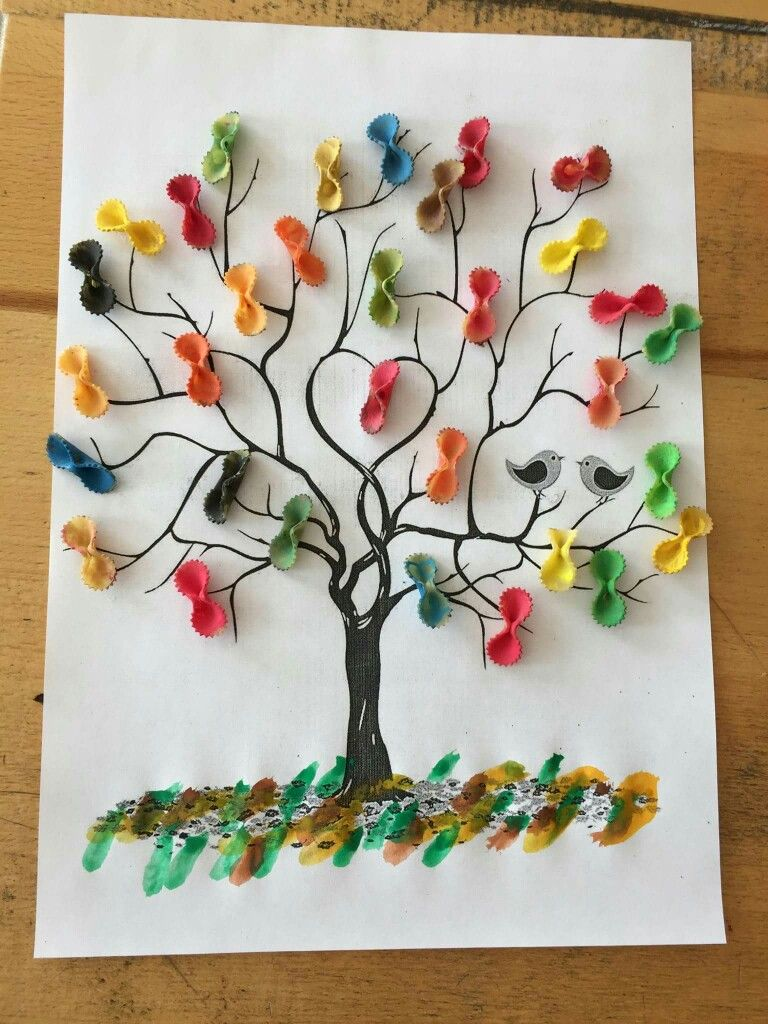 Primavera Faaliyet Tree Crafts Crafts Ve Crafts For Kids
