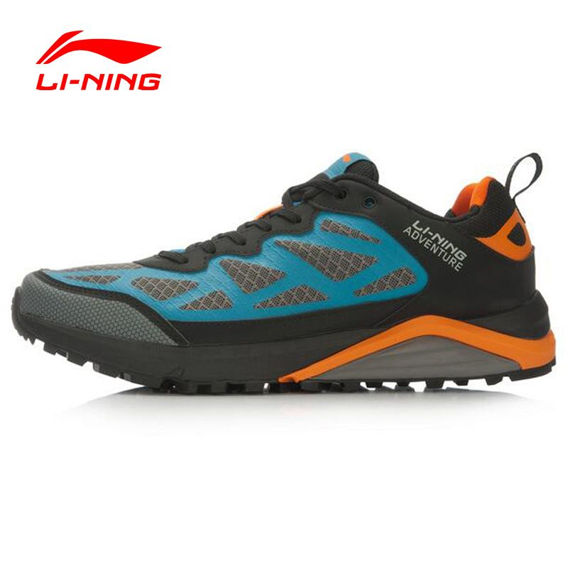 Li-Ning Adventure Cushioning Trail Running Shoes Off-road Running Sneakers  For Man Outdoor