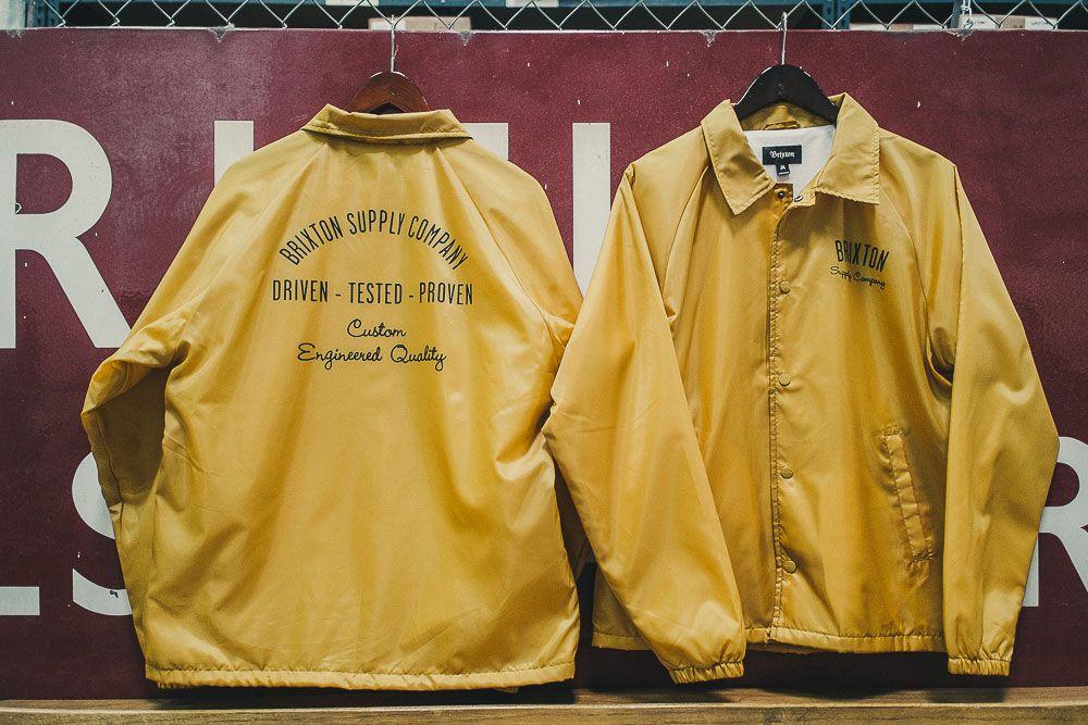 #brixton 'Clyde' jacket