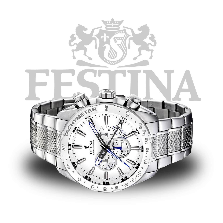 Festina Timeless Chronograph F6853 4 – sportliche Herrenuhr in Schwarz    Silber mit Miyota Quarzwerk  shoppingfestina  swiss…  80cf30cc79