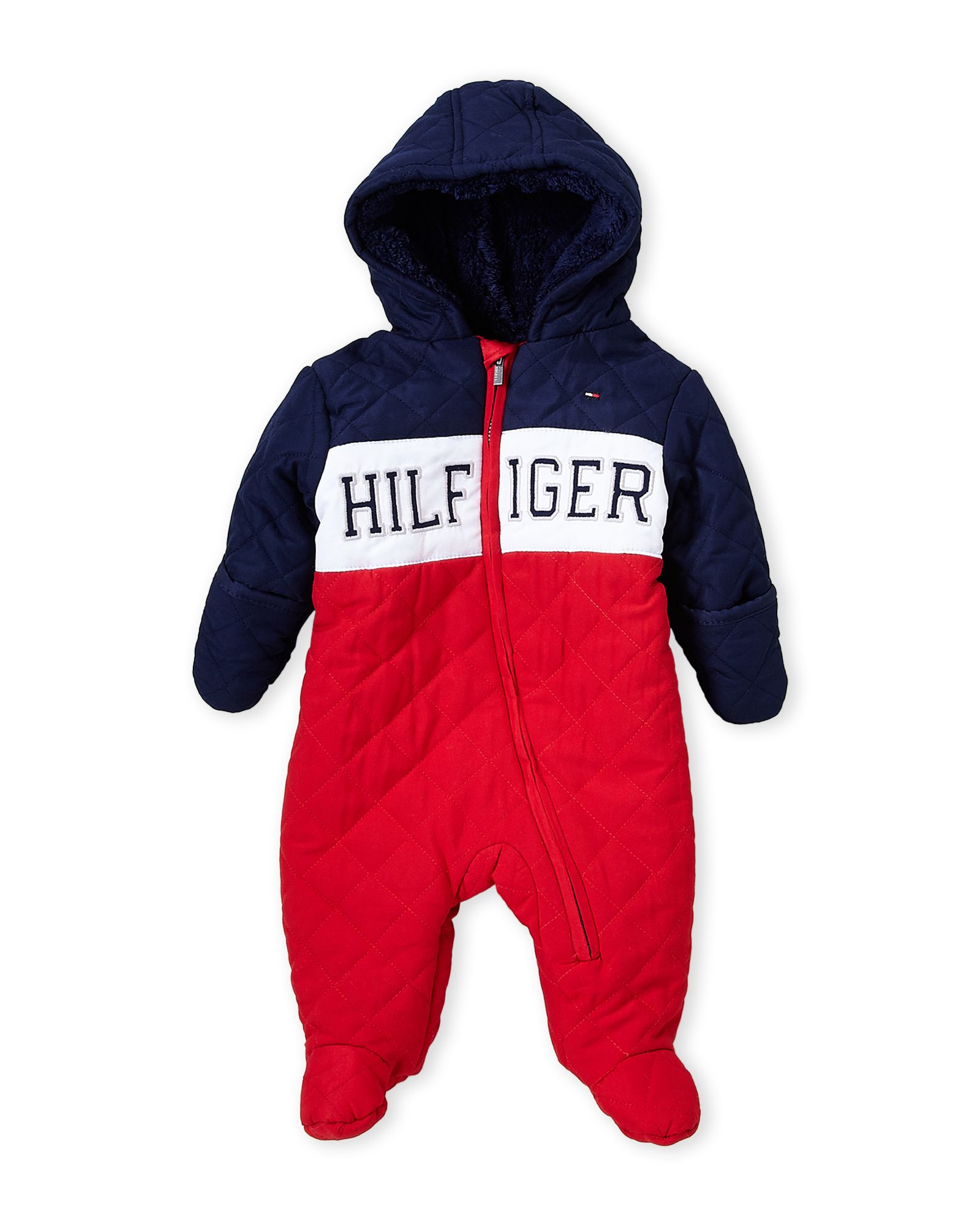 f62845fc2 Newborn Boys) Quilted Hooded Logo Pram | *Apparel & Accessories ...