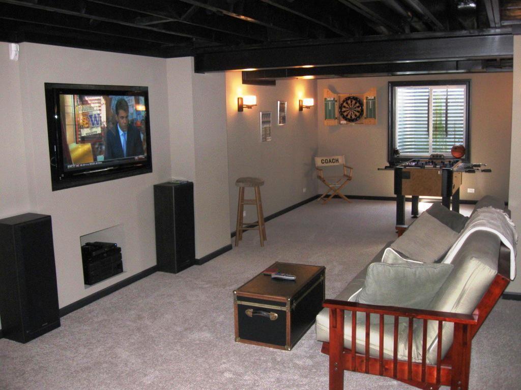 Simple Low Basement Ceiling Ideas Basement Remodeling Cheap