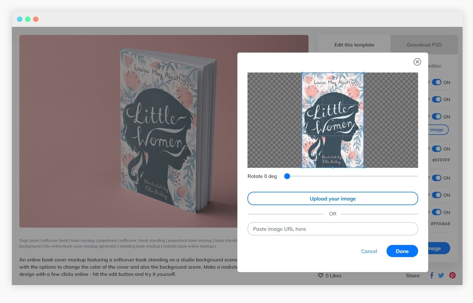 How To Create Mockup Templates Ready To Download Book Cover Mockup Mockup Templates Book Cover