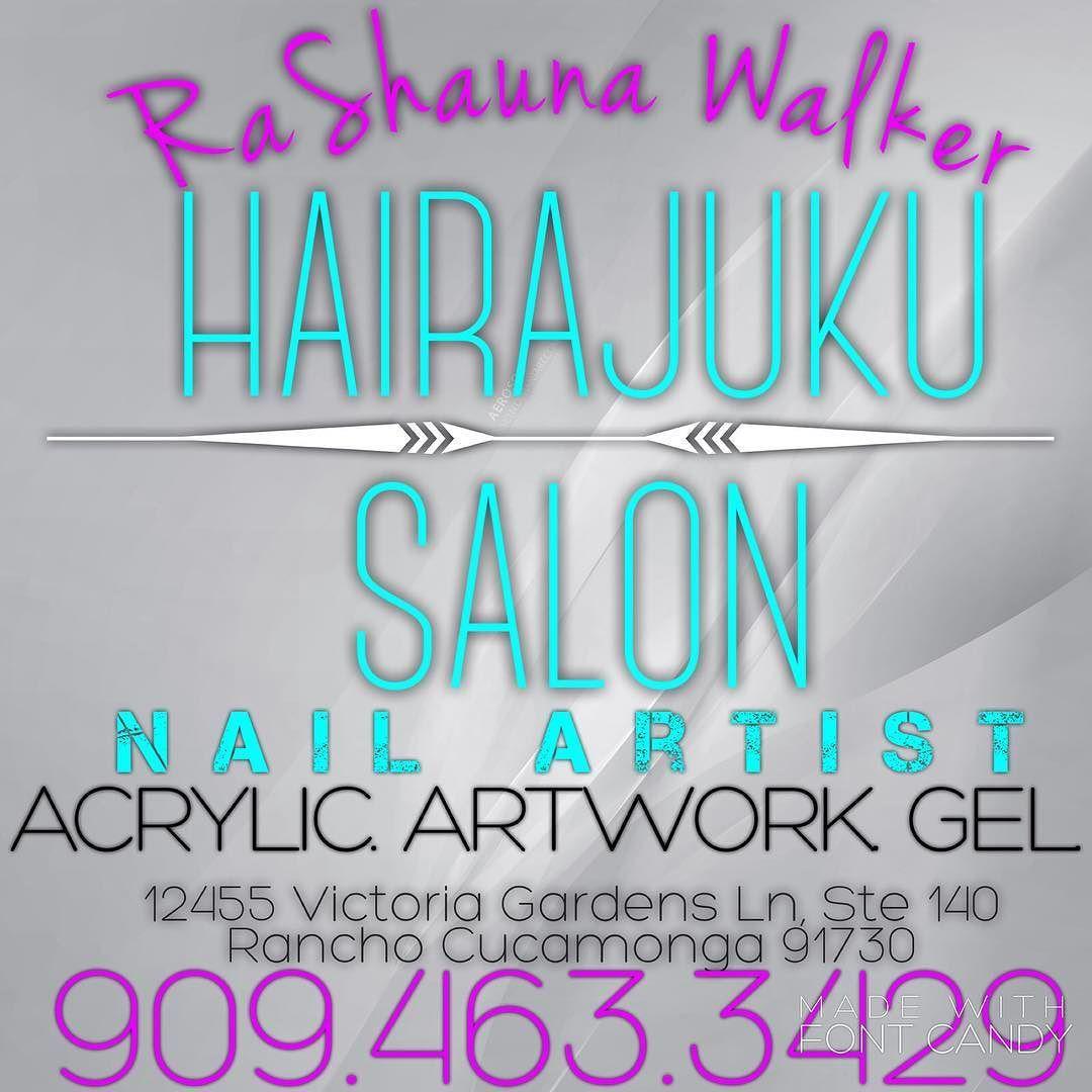 Please call the salon directly and someone will take excellent care of you!  @hairajukusalon @rashaunawalker #nails #nailsswag #acrylic #gel #fullset #nailart #nailgame #manicure #sugarscrub #seasaltscrub #hotoil #morgantaylor #opi #venique #colorclub #lechat #chinaglaze #gelish #ibd #essie #mint #sparitual #piggypaint by rashaunawalker