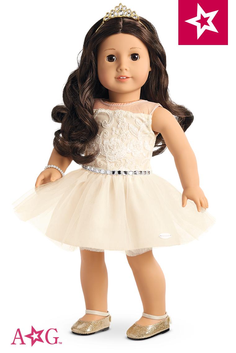 Celebration Dress for 18-inch Dolls