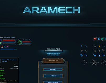 """Check out new work on my @Behance portfolio: """"Aramech"""" http://be.net/gallery/46223973/Aramech"""