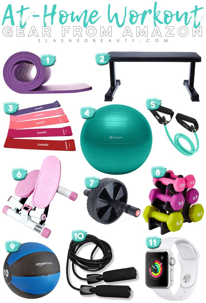 11 Must-Have At Home Workout Gear Picks from Amazon | Workout Equipment for At Home Exercise | Apartment Workouts