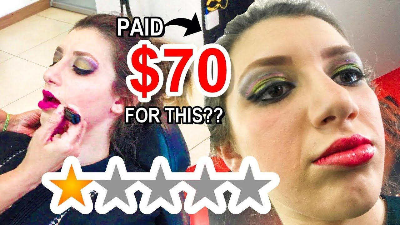I Went To The Best Reviewed Makeup Artist In My City Gone Wrong Makeup Artist Makeup Gone Wrong
