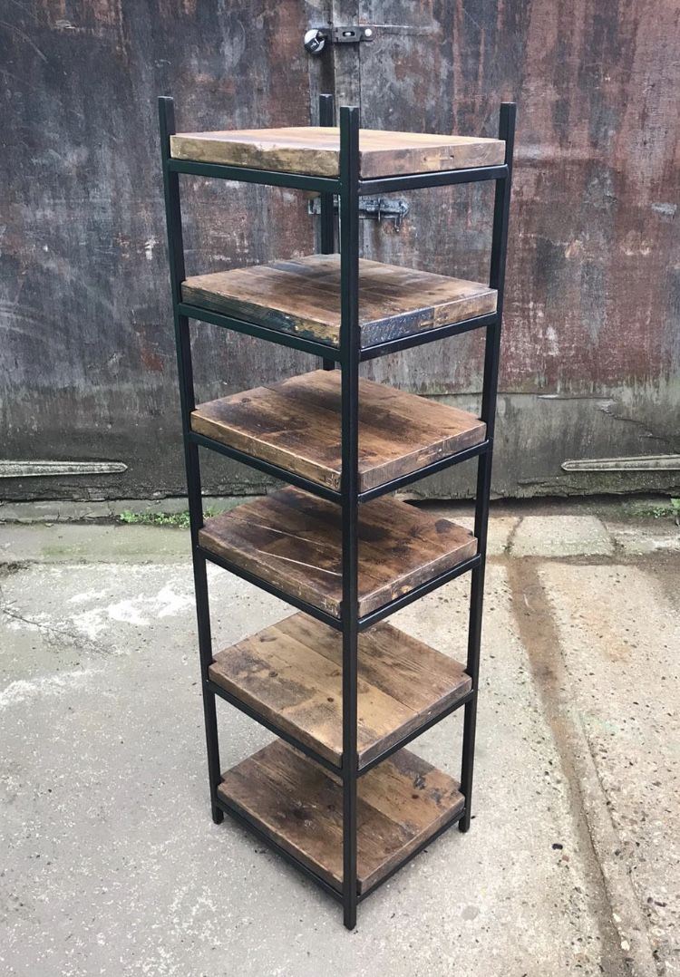 Commissioned reclaimed one off shelving stand. Crafted to the clients specifications. What to commission your own price of furniture head to the website.  #handmade #craft #handcrafted #commission #hertfordshire #furniture #furnituredesigns #industrial #industrialdesign #industrialfurniture