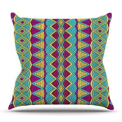 East Urban Home Tribal Soul II by Pom Graphic Design Outdoor Throw Pillow