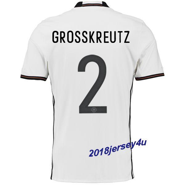 58ffb91ef ... Kevin Grosskreutz 2 UEFA Euro 2016 Germany Home Jersey Jurgen Klinsmann  18 ...