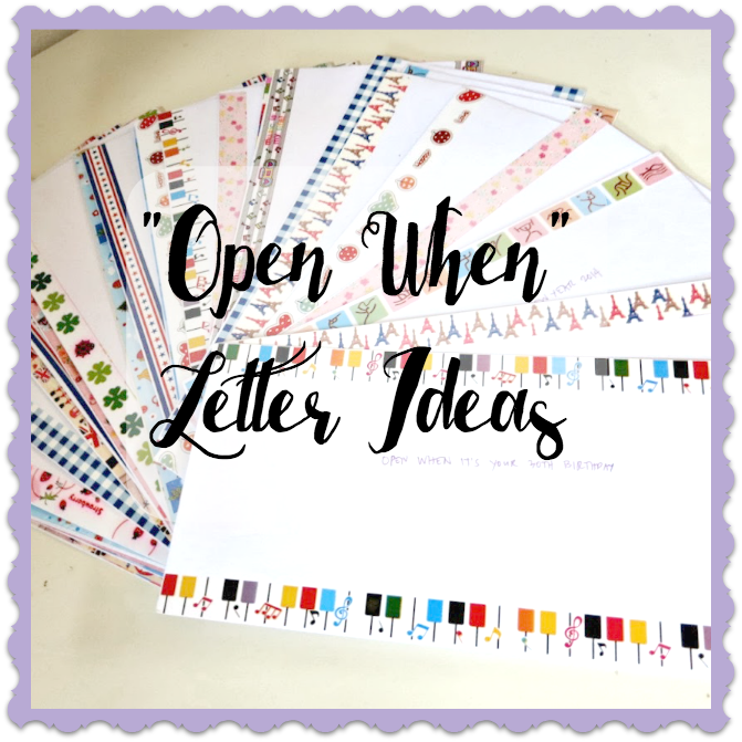 open when letter ideas open when letter ideas for best friend arts and crafts 1522