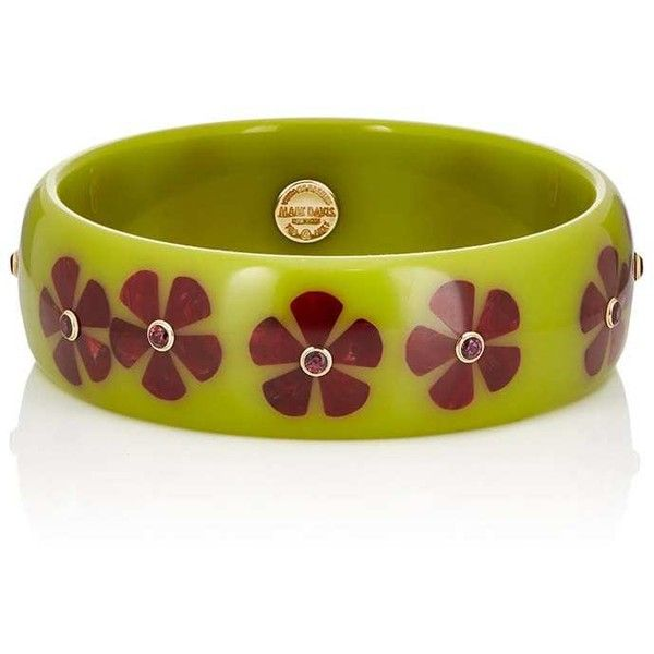 Mark Davis Womens Floral Bakelite Bangle aO3f3y0