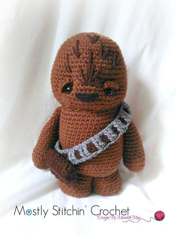 Star Wars Inspired Wookie Crochet Pattern Pdf Crochetknitting