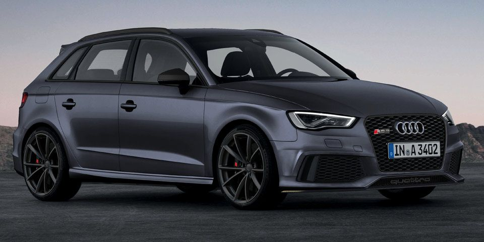 audi rs 3 sportback render from p r walker automobiles. Black Bedroom Furniture Sets. Home Design Ideas