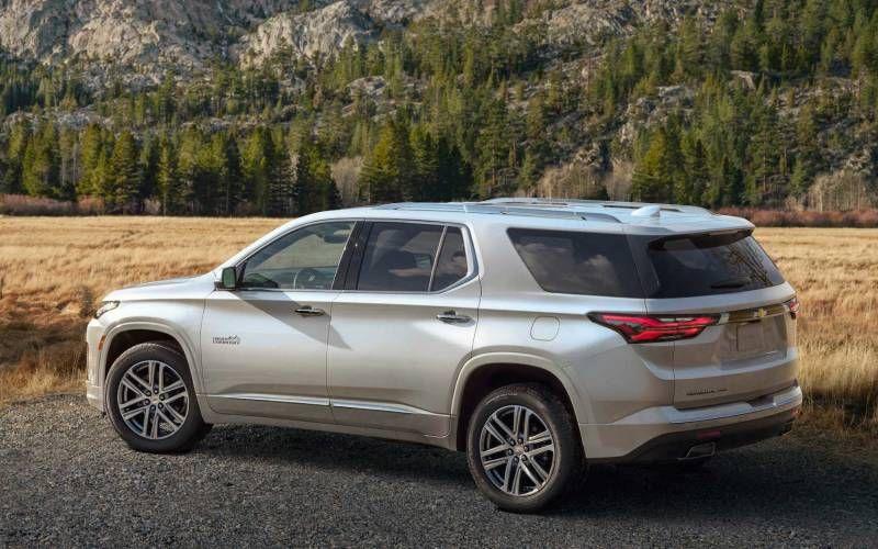 Chevrolet Traverse High Country 2021 in 2020 Chevrolet