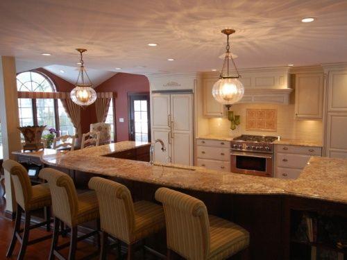 Marvelous Open Floor Plan Kitchen Ideas — Kitchen Solutions Amazing Open Living Kitchen Design Design Decoration