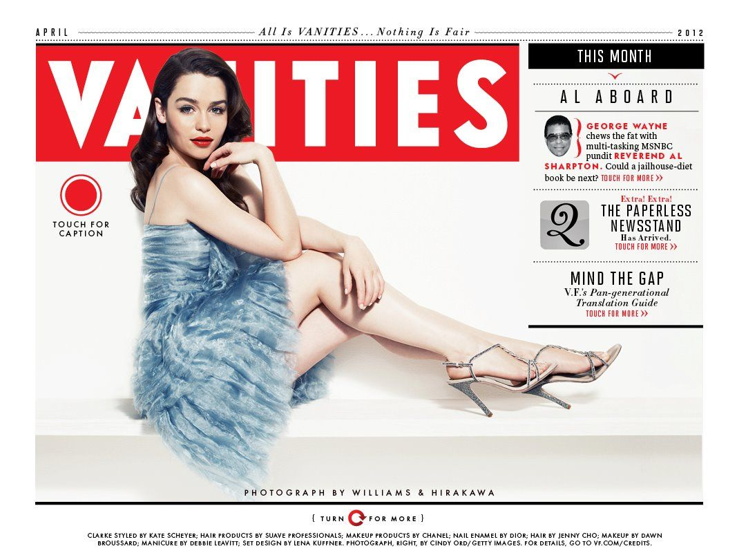 2012 - Vanity Fair - van2 - Adoring Emilia Clarke - The ...