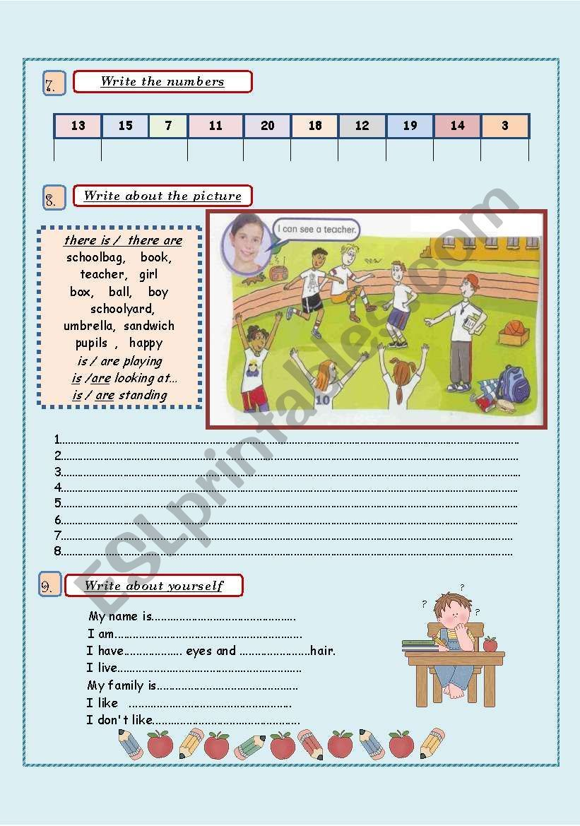 Vocabulary Revision 4th/5th grade( 3 pages) in 2020