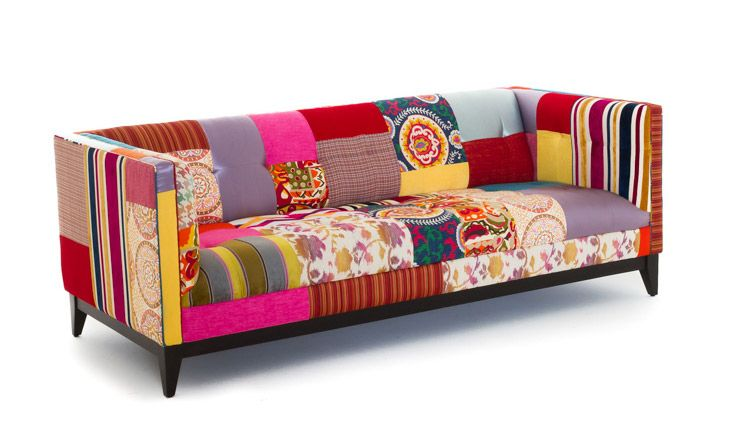 Stowe Patchwork Sofa Furniture Home