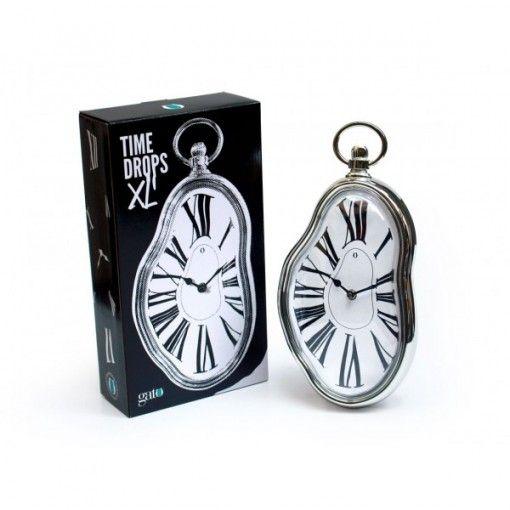 Reloj Time Drops Xl Reloj Disenos De Unas Colgar En La Pared