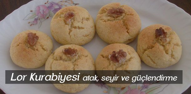 DUKAN: Lor Kurabiyesi Tarifi ; cottage or curd cheese cookie recipe