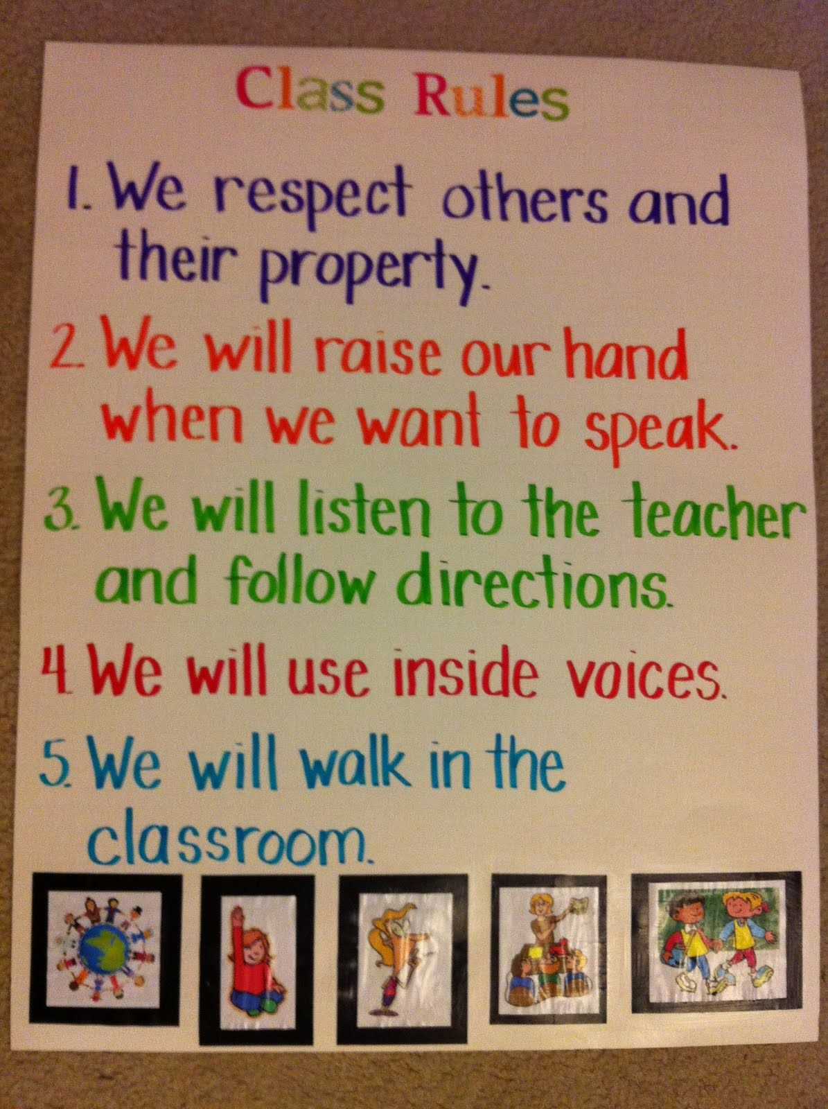 Golden Rule Classroom Poster