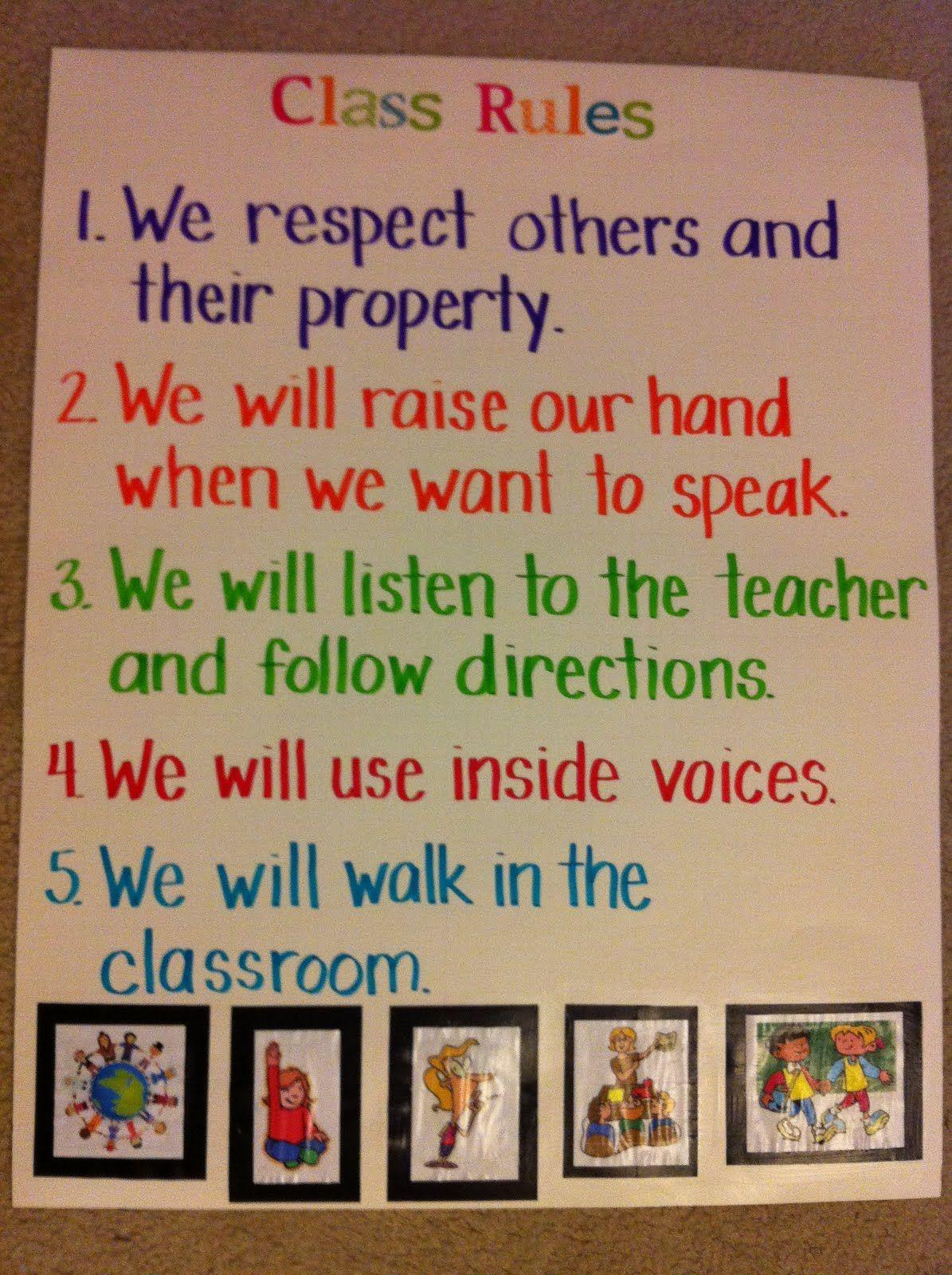 Golden Rule Classroom Poster
