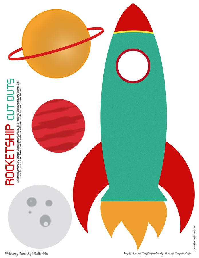 It's just a graphic of Dashing Printable Rocket Ship