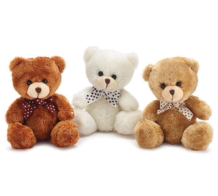 PLUSH BEIGE/RUST/WHITE BEAR SET (With images) White bear