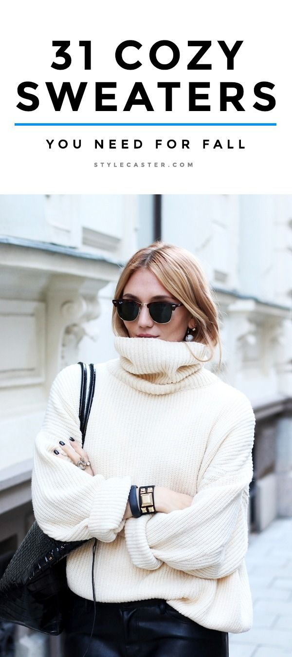 31 Obscenely Cozy Sweaters You Need in Your Life | Style, Shops ...